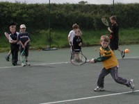 Practising a backhand - like to contact us?